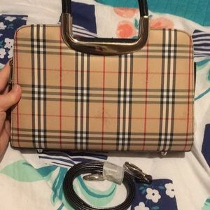 Brand new Burberry bag with long strap